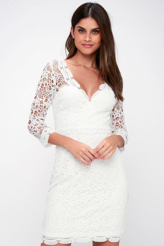 White Lace Dresses, Black Lace Dresses & Sexy Lace Dresses ...
