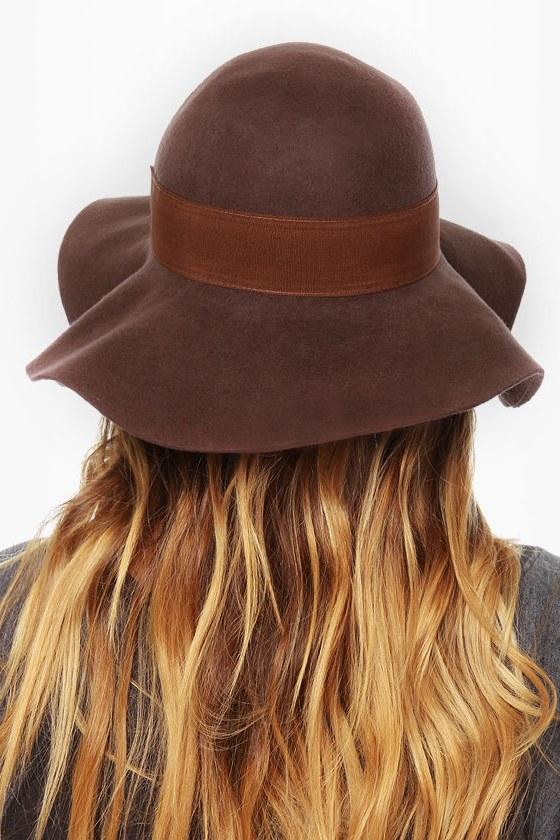 2c19bd5eb19 ... official volcom social animals brown wool hat e719b af47c
