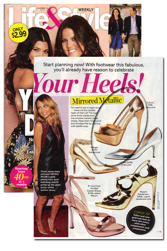 Anne Michelle Barbie 06 Rose Gold Metallic Platform Pumps at Lulus.com!