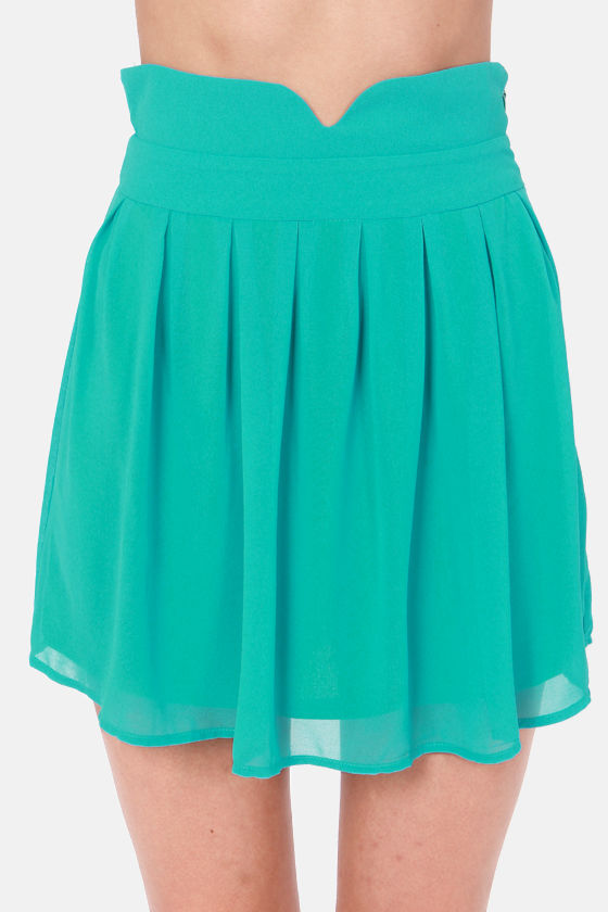 teal skirt blue skirt mini skirt high waisted