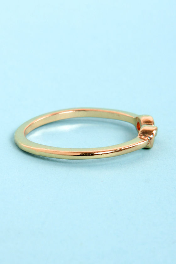 Perpetually Pretty Gold Infinity Ring at Lulus.com!