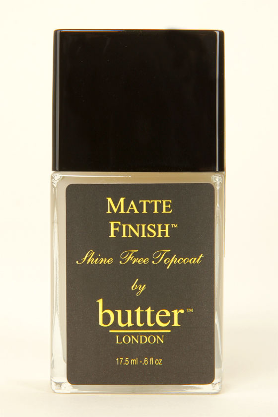 Butter London Matte Finish Topcoat at Lulus.com!