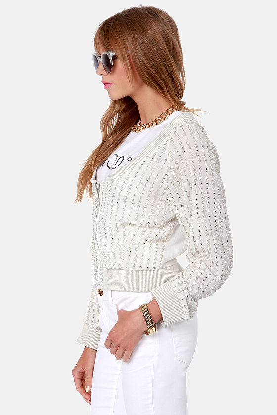 Ladakh Queens Silver Sequin Jacket at Lulus.com!