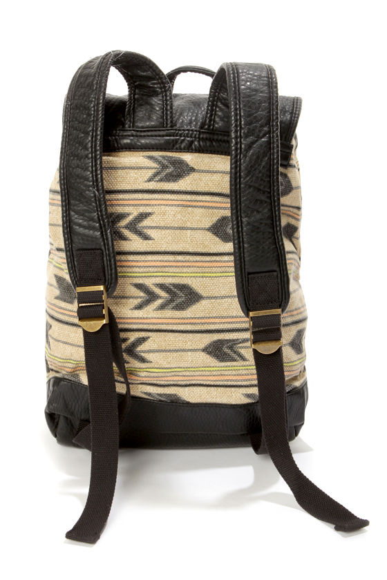 Billabong Homeroom Hippie Tribal Print Backpack at Lulus.com!