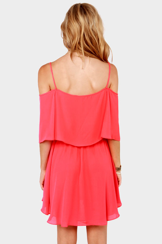 LULUS Exclusive Flow Your Own Way Hot Pink Dress at Lulus.com!