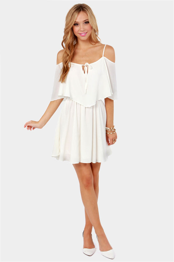 LULUS Exclusive Flow Your Own Way Ivory Dress at Lulus.com!