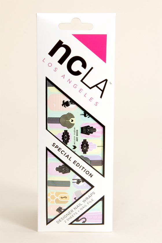 NCLA Art Deco Nail Wraps at Lulus.com!