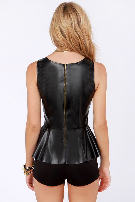 Rock and Rule Black Romper at Lulus.com!