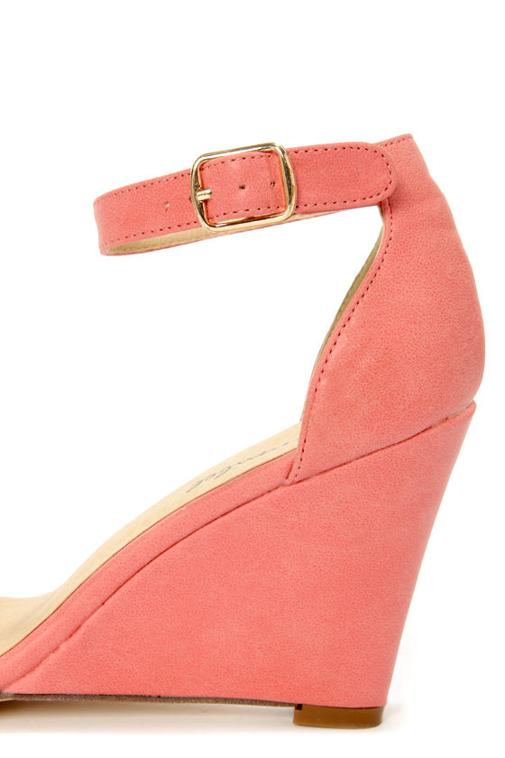 Amadi 1 Rose Gold-Plated Single Sole Wedges at Lulus.com!