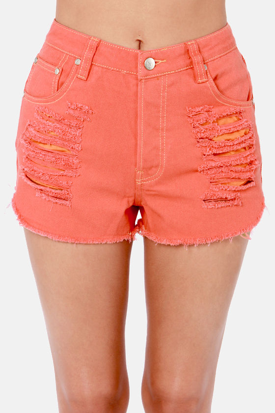 Mink Pink Slasher Flick Shorts - Cutoff Shorts - Denim Shorts - $79.00