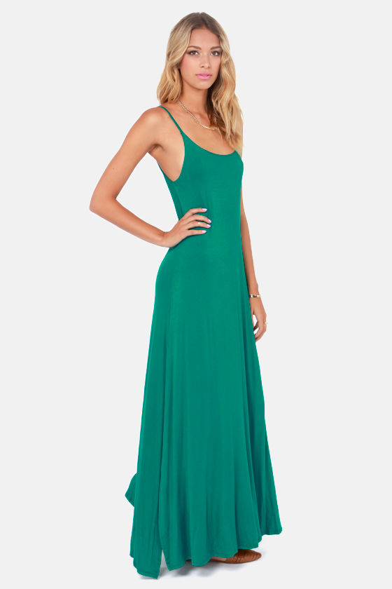 Such Great Heights Teal Maxi Dress at Lulus.com!