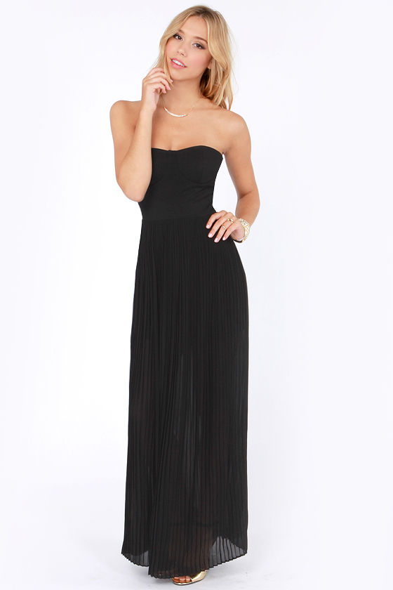 Blaque Label Aurora Black Maxi Dress at Lulus.com!