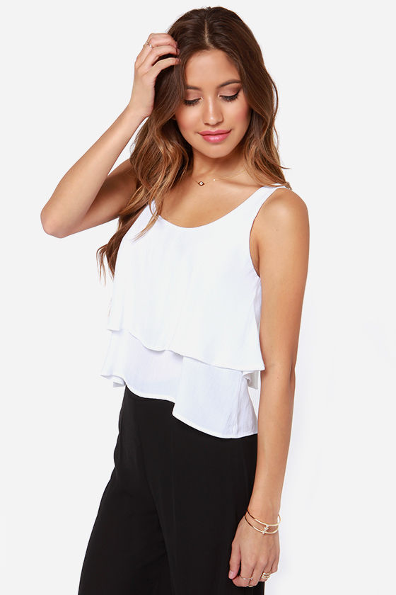 Lucy Love Poppy Ivory Top at Lulus.com!