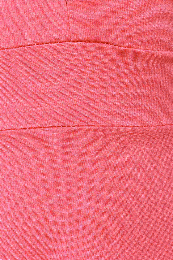 LULUS Exclusive Ready for My Closeup Coral Pink Dress at Lulus.com!