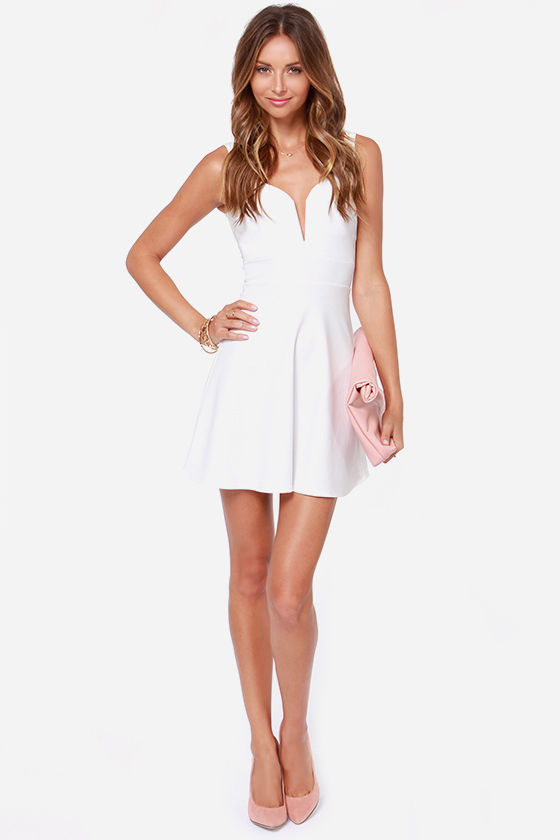 Ready for My Closeup Ivory Dress at Lulus.com!