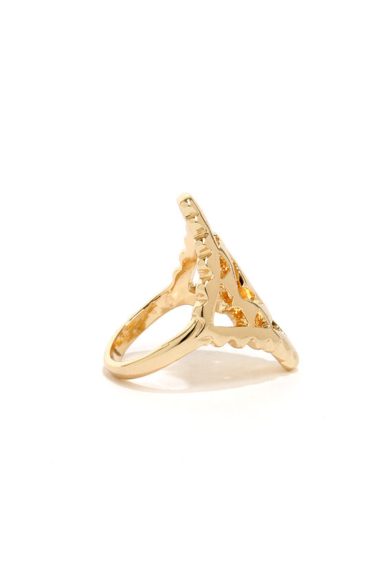 Pharaoh Enough Gold Ring at Lulus.com!