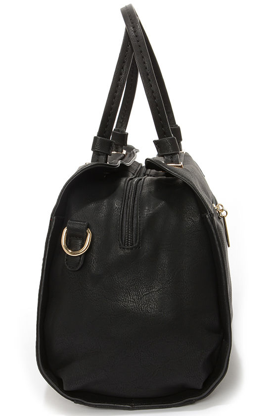 A Lot to Handle Black Handbag at Lulus.com!
