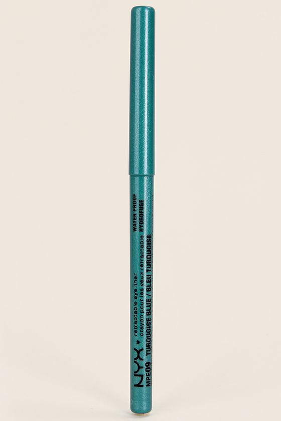 NYX Retractable Turquoise Blue Eye Liner at Lulus.com!
