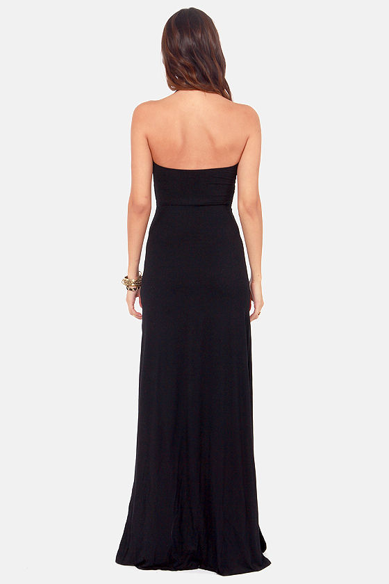 Lifelong Love Black Halter Maxi Dress at Lulus.com!