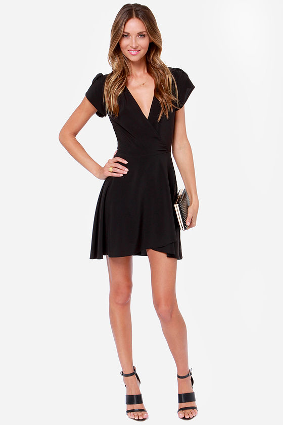 LULUS Exclusive One of These Nights Black Dress
