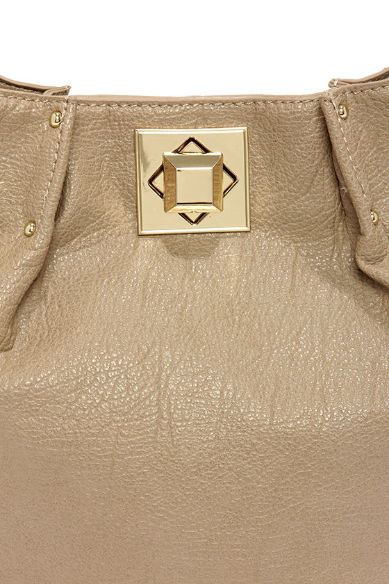 Big Buddha Loraine Taupe Purse at Lulus.com!