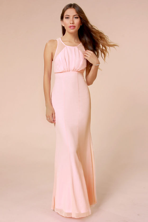 Galerry casual maxi bridesmaid dresses