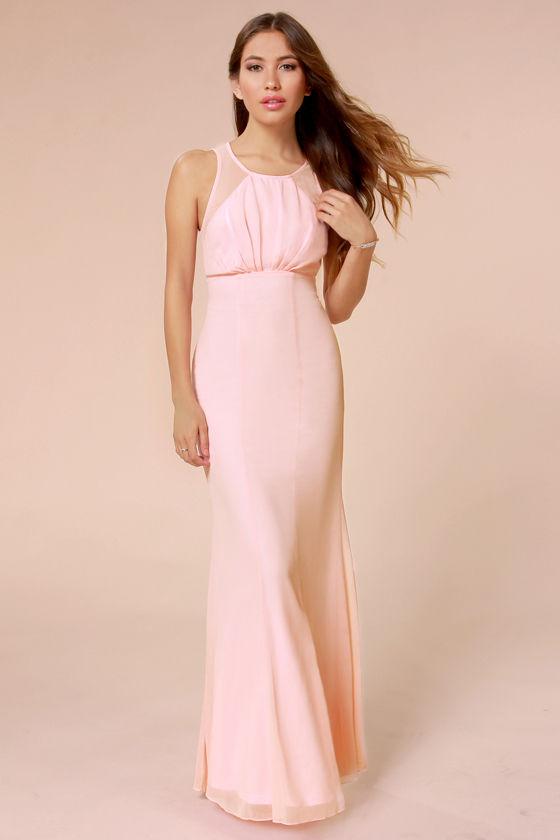 Beautiful Pink Dress Light Pink Dress Maxi Dress