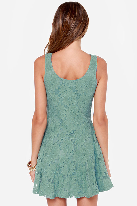 LULUS Exclusive Greenhouse Girl Sage Green Dress at Lulus.com!