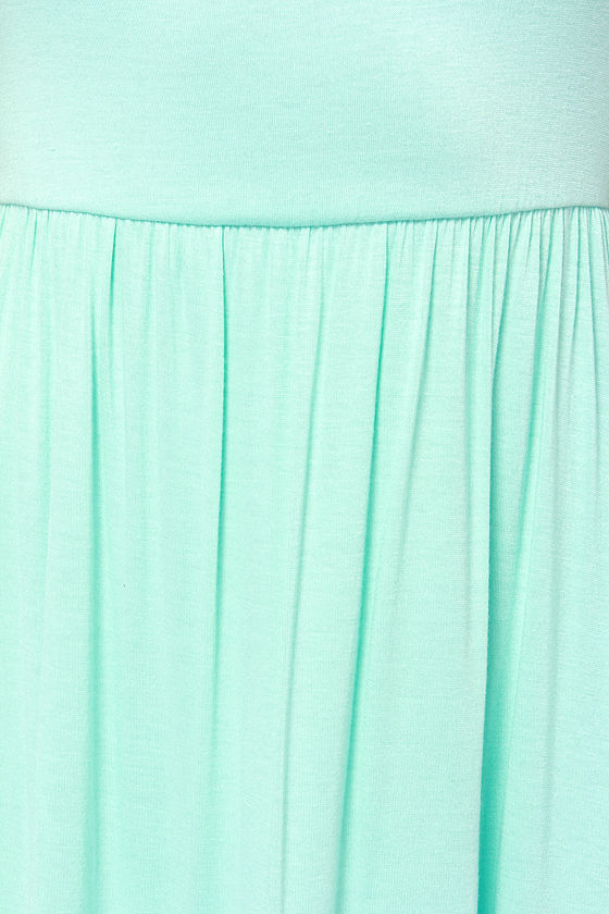 LULUS Exclusive Steal A Glance Mint Blue Dress at Lulus.com!