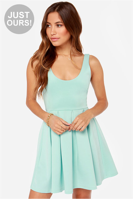 LULUS Exclusive Close to You Mint Blue Dress at Lulus.com!