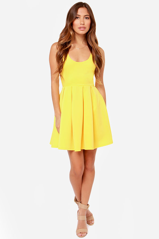 LULUS Exclusive Close to You Yellow Dress at Lulus.com!