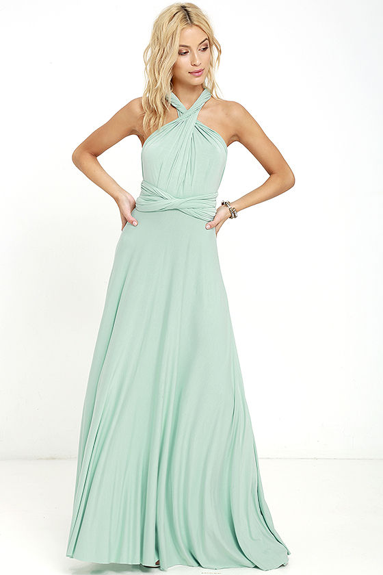 LULUS Exclusive Tricks of the Trade Turquoise Maxi Dress at Lulus.com!