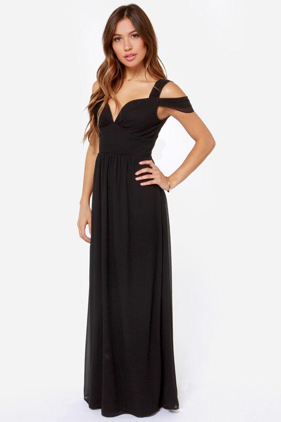 1a58020ceefc Elegant Black Dress - Maxi Dress - Prom Dress - Bridesmaid Dress -  81.00