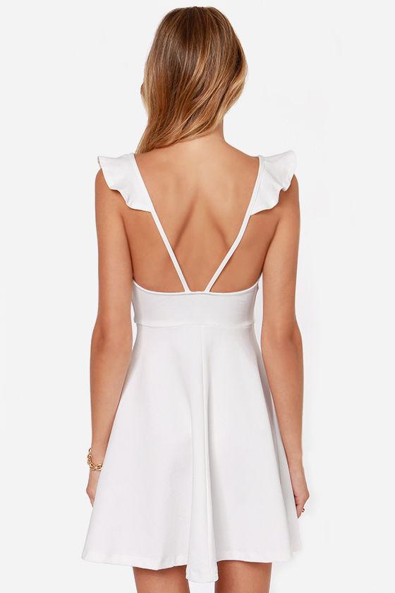 Leave a Light On Ivory Dress at Lulus.com!