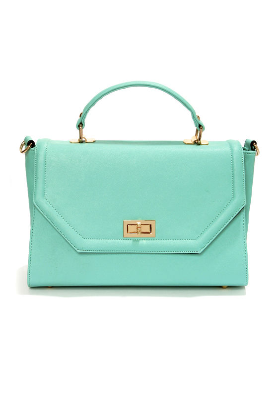 Bag to Differ Mint Green Handbag at Lulus.com!