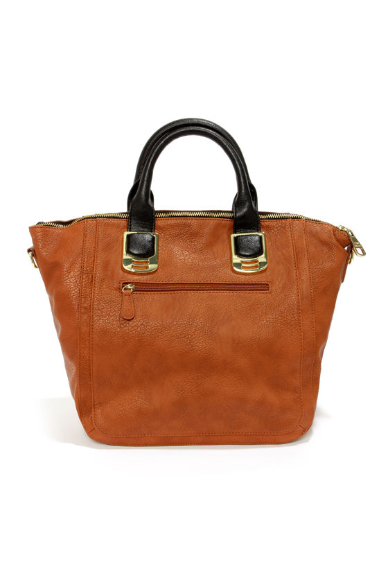 Steve Madden BGambet Black and Brown Tote at Lulus.com!