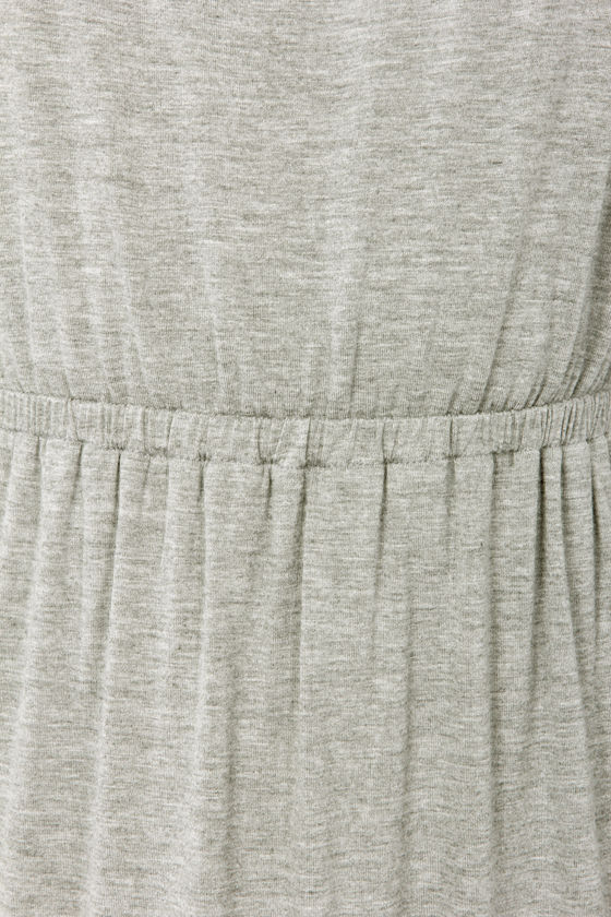 Double Dutch Strapless Grey Maxi Dress at Lulus.com!