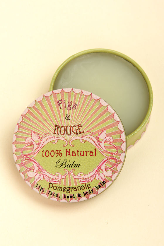 Figs & Rouge Natural Pomegranate Balm at Lulus.com!