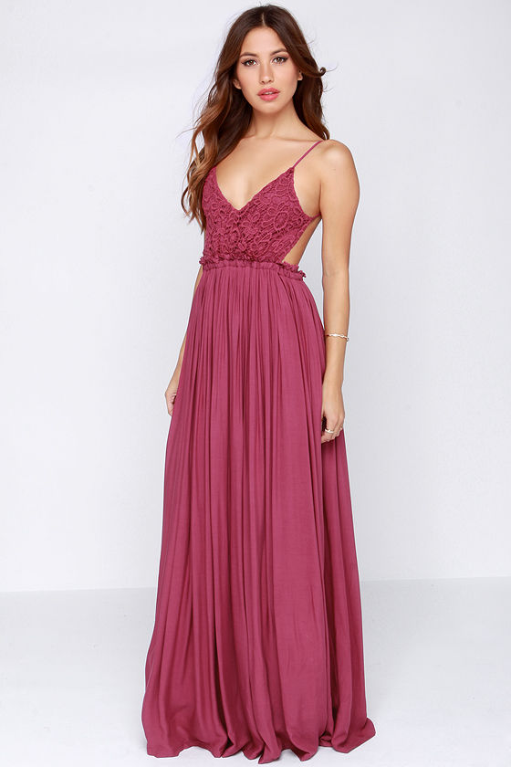 Pretty Maxi Dress Crochet Dress Lace Dress 5400