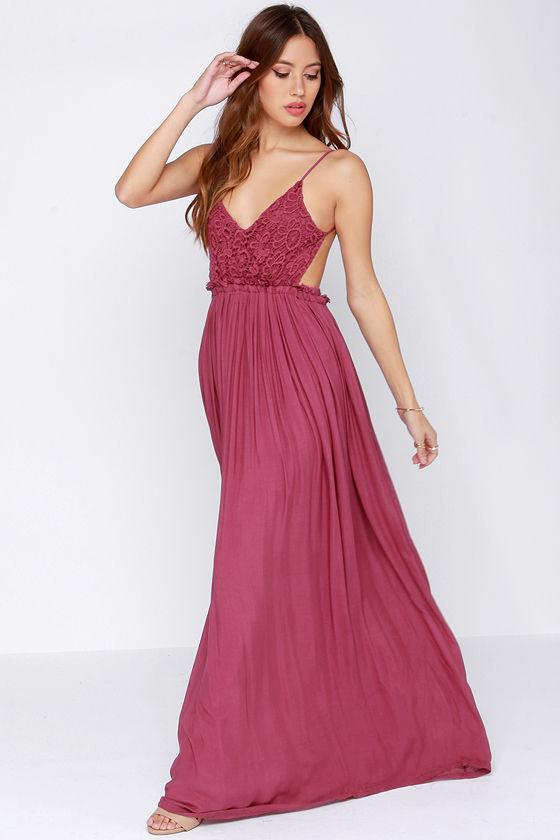 Pretty Maxi Dress Crochet Dress Lace Dress 54 00