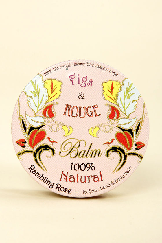 Figs & Rouge Natural Rambling Rose Balm at Lulus.com!