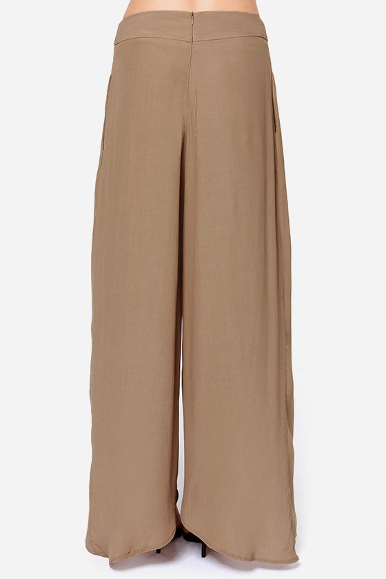 Come Sail Away Brown Pants at Lulus.com!