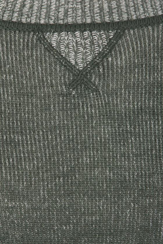 BB Dakota Lilyana Army Green Sweater at Lulus.com!