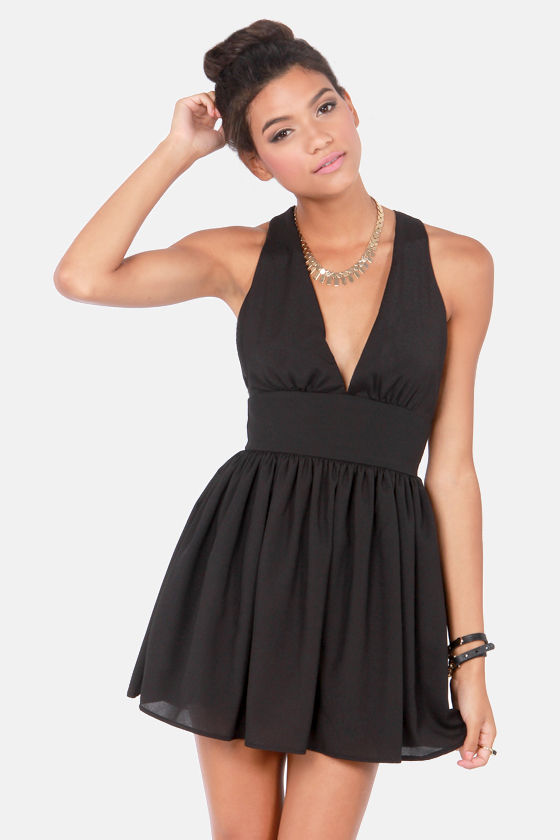 Sexy Black Dress - Backless Dress - Short Dress - $45.00