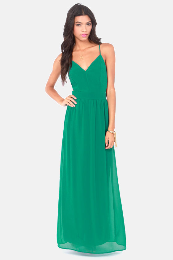 0b2c47fd87d7e LULUS Exclusive Rooftop Garden Backless Emerald Green Dress