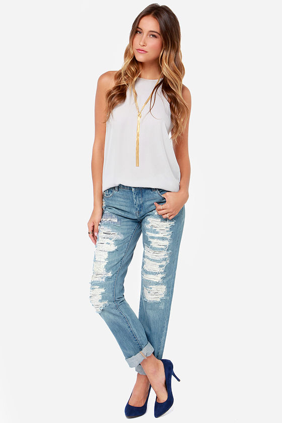 Blank NYC The Galaxy Jeans - Boyfriend Jeans - Straight Cut Jeans ...