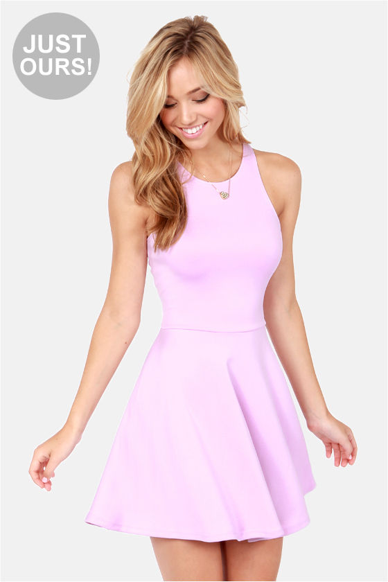 LULUS Exclusive Wanna Race? Lavender Dress at Lulus.com!