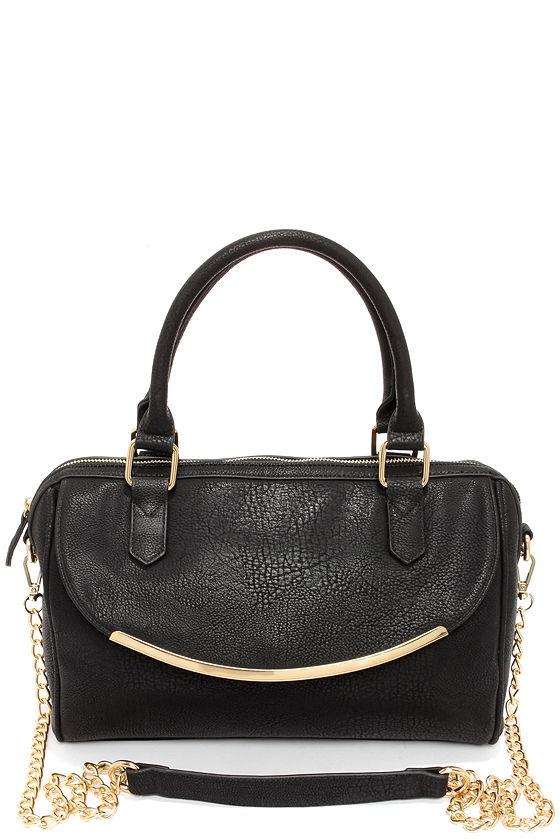 Happy Day Black Handbag at Lulus.com!