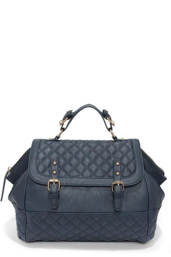 e0d7e05df2 Navy Blue Purse Quilted Handbag 45 00. Felix Navy Quilted Handbag Rm188 00  Gift. Felix Navy Quilted Handbag. 331000 Black Quilted Nylon Gym Bag Front  View ...