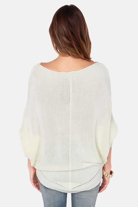 Costa Blanca Knit Perfection Ivory Sweater at Lulus.com!